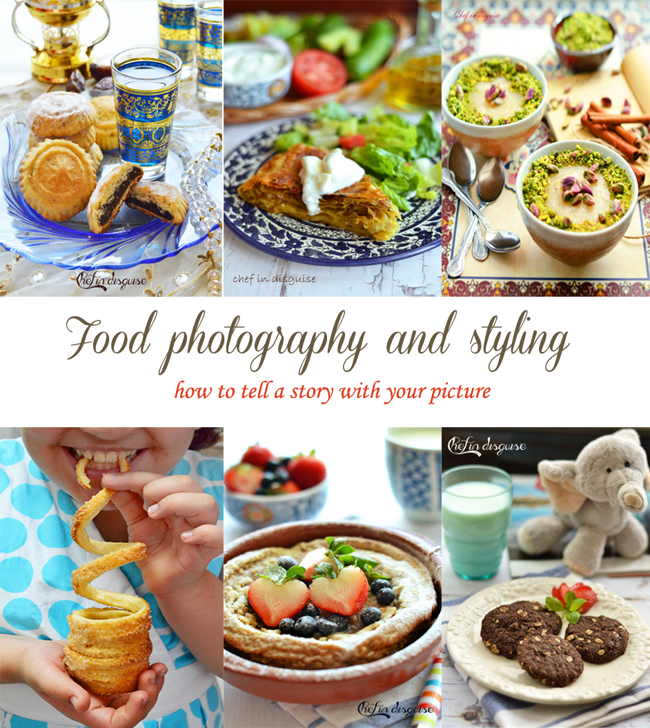 Food photography and styling.. How to tell a story with yourpictures