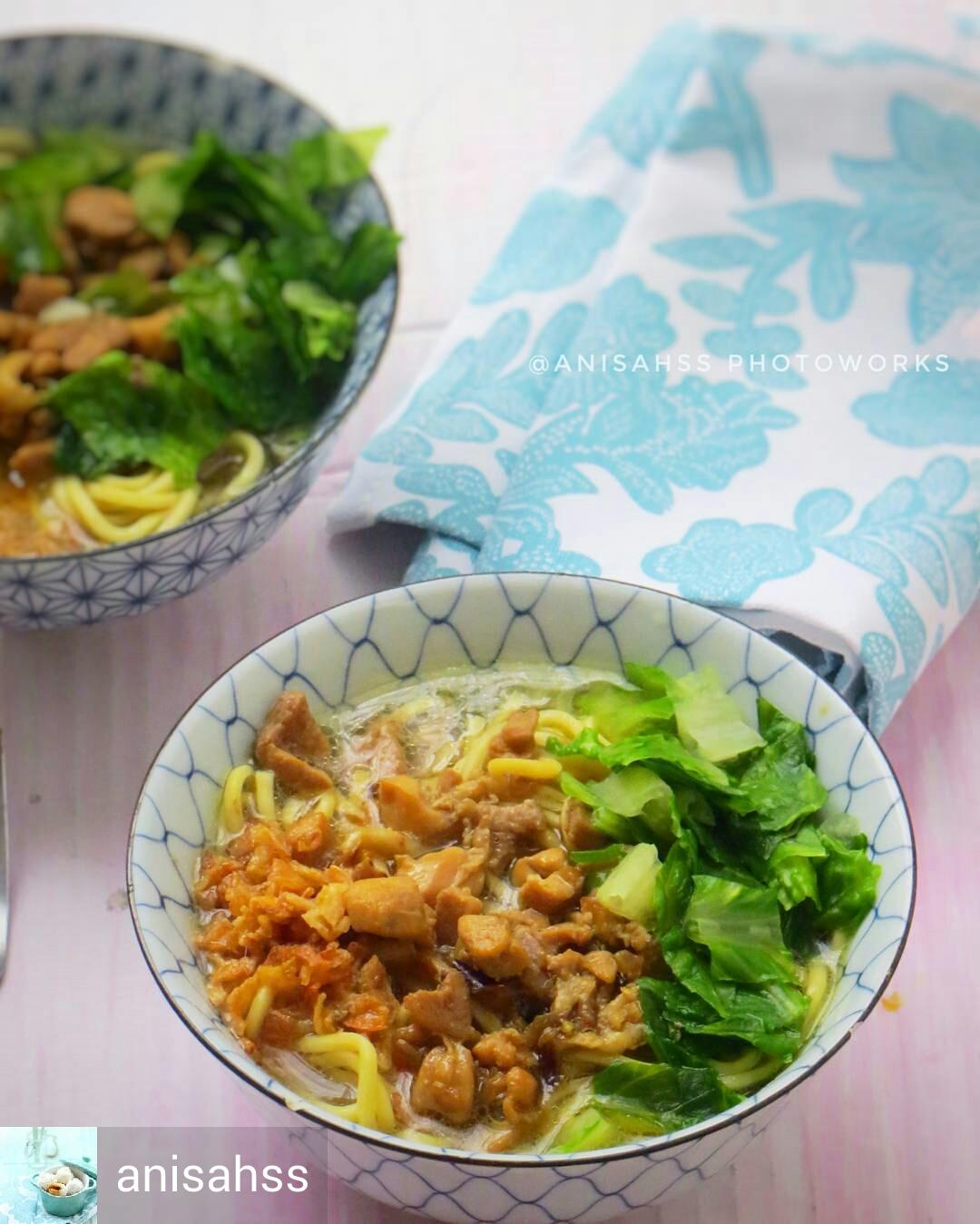 Resep Mie Ayam Enak oleh@anisahss